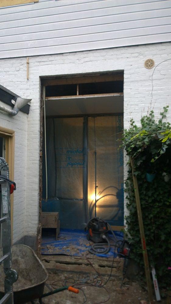 Aanbrengen deursparing Unit 11