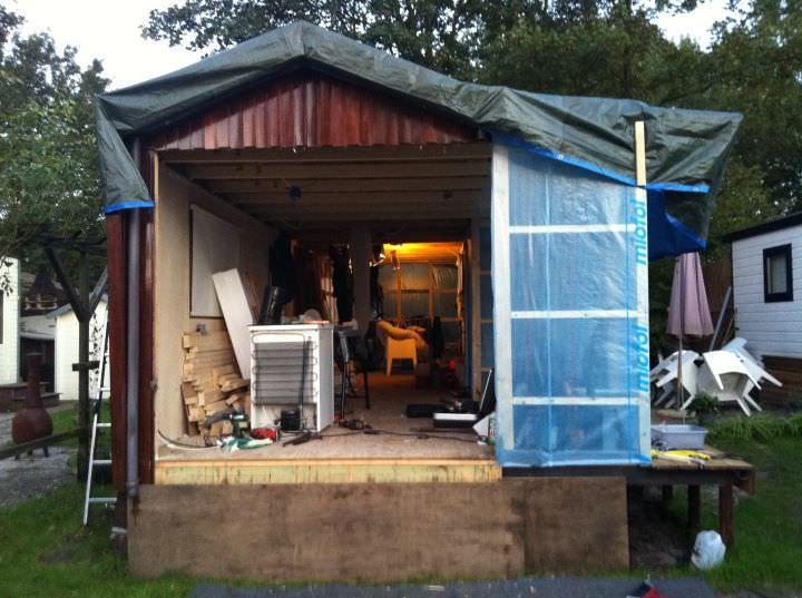 Verbouwing vakantiewoning Veluwemeer - Unit 11