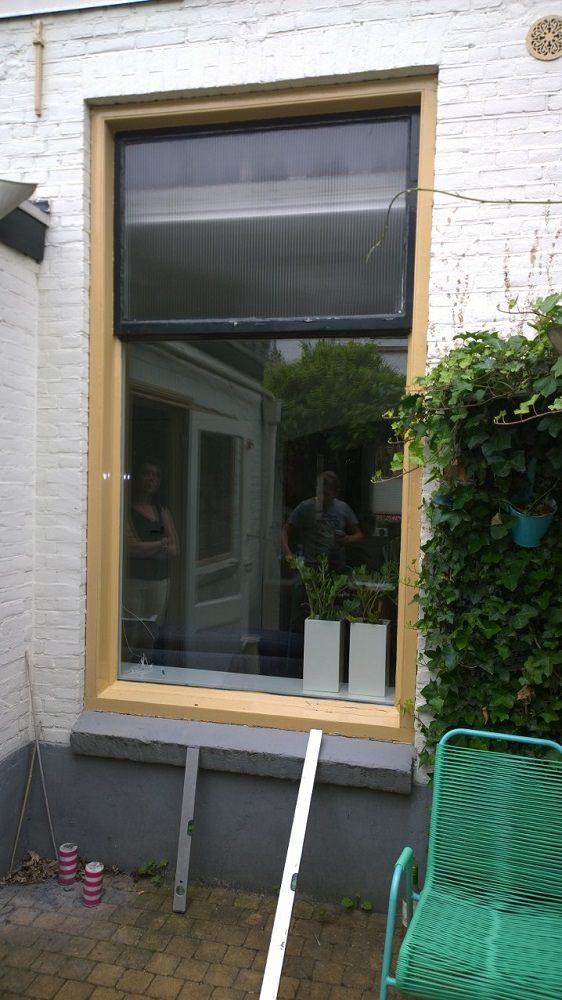 Verwijderen oud raam - Unit 11