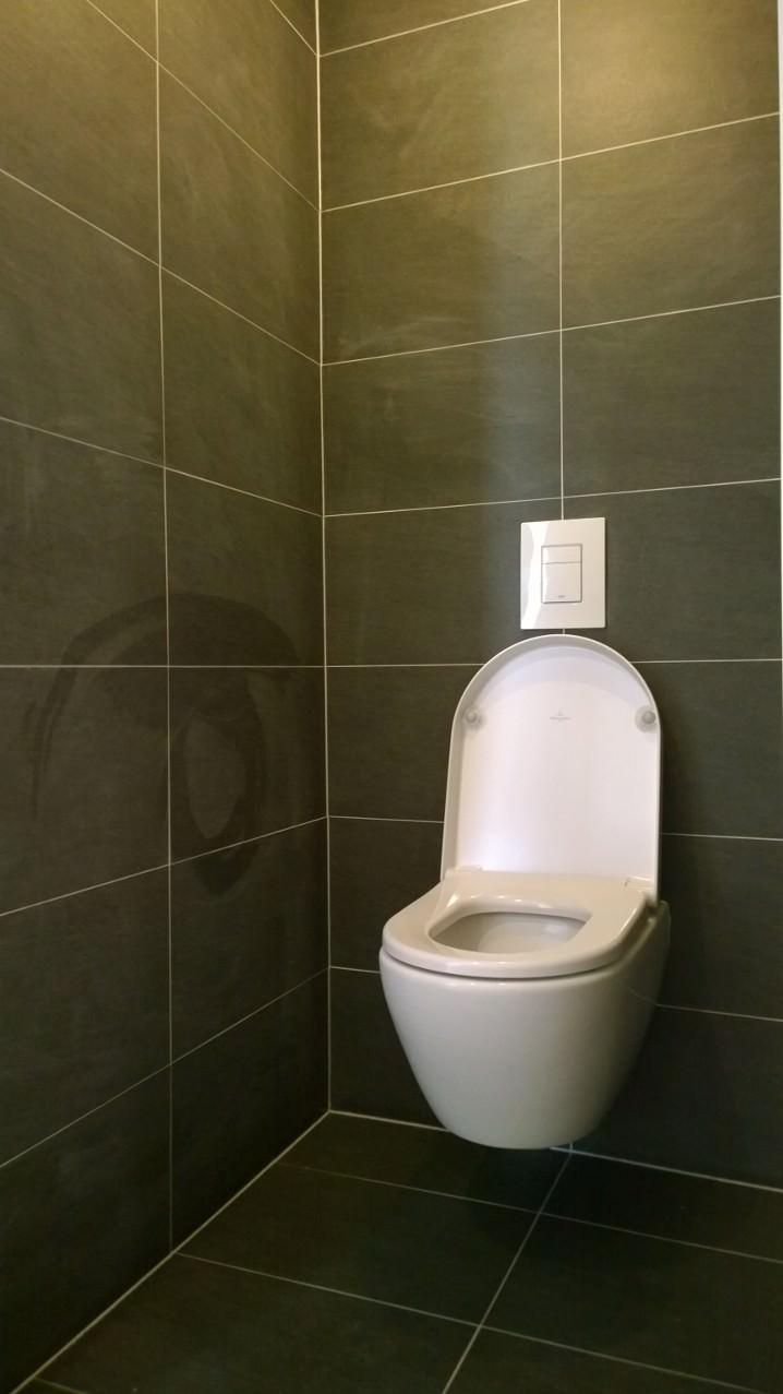 Woningrenovatie binnenstad Zwolle - nieuw toilet